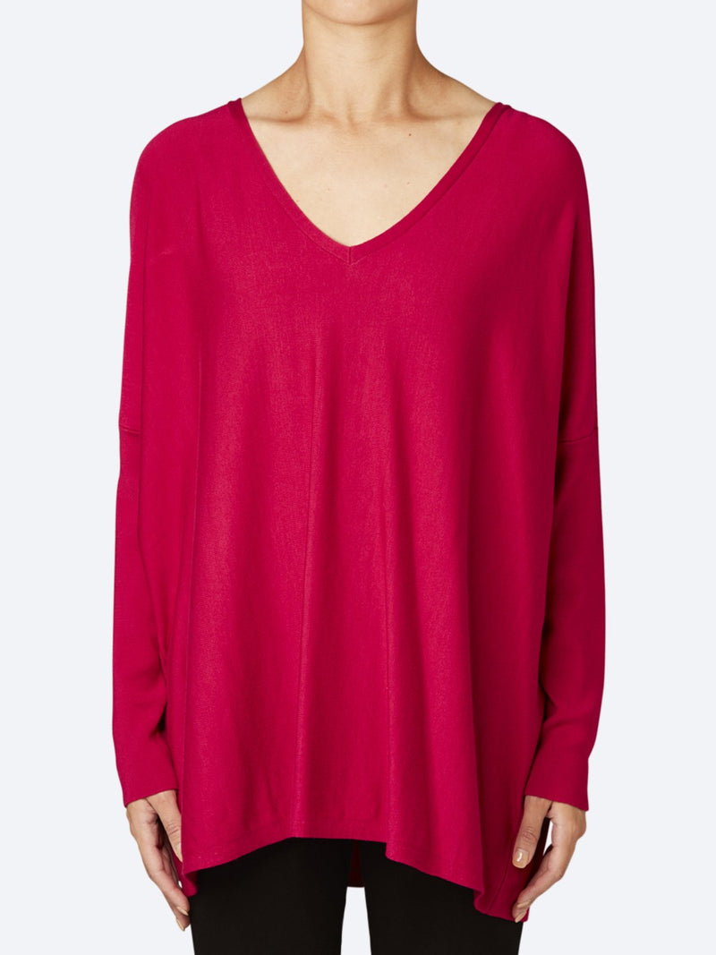 Yeltuor - PING PONG - Knitwear - PING PONG V NECK PULLOVER -  -