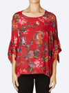 Yeltuor - RANDOM - Tops - RANDOM KNOTTED SLEEVE TOP -  -