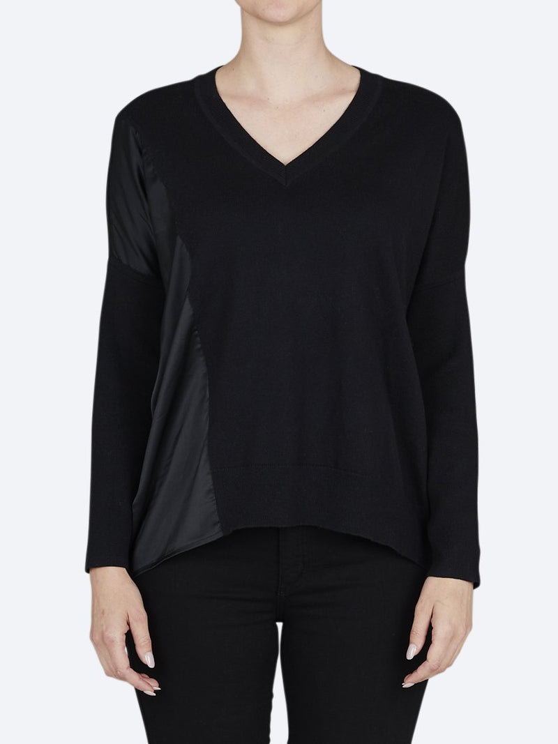 RANDOM ARCHER COTTON/CASHMERE SWEATER