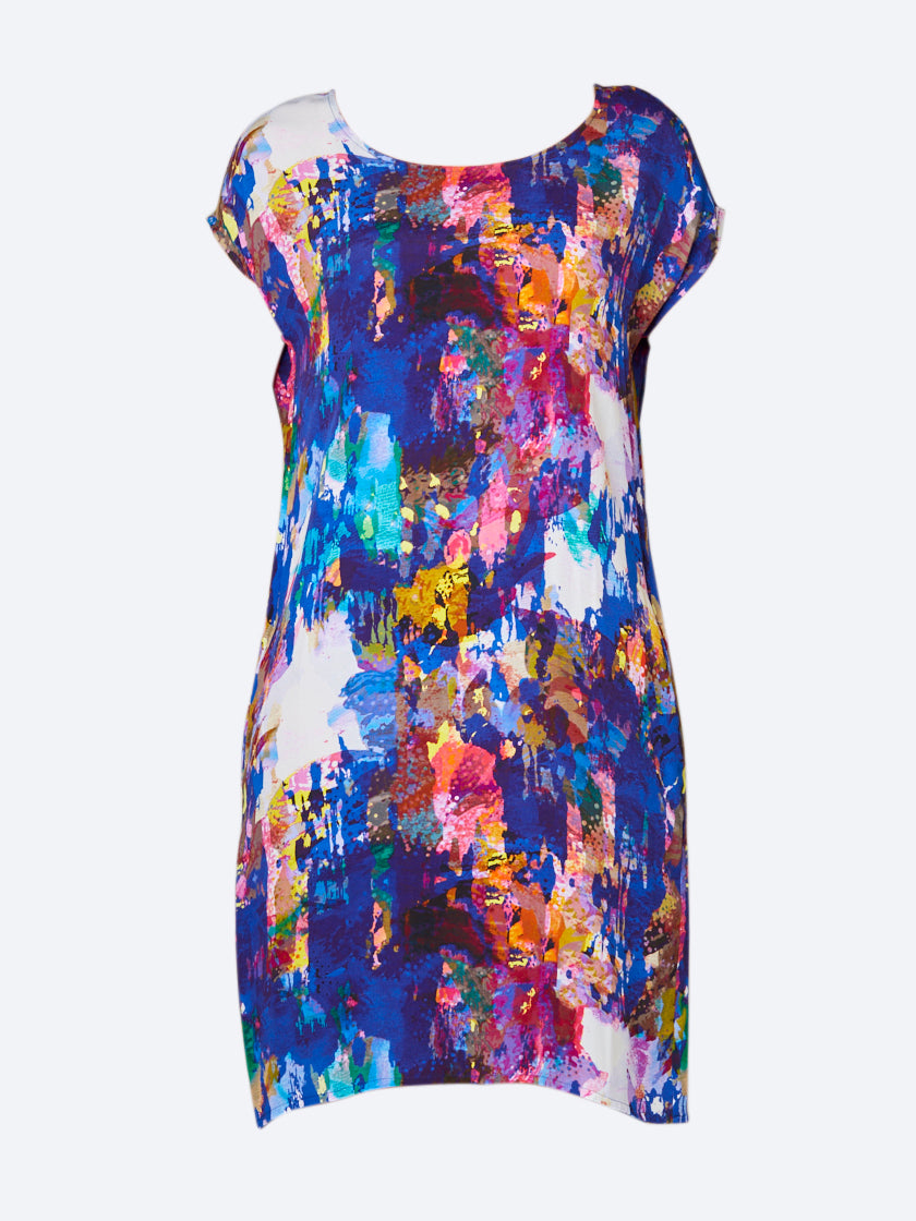 RANDOM ZABINE CAPRI DRESS