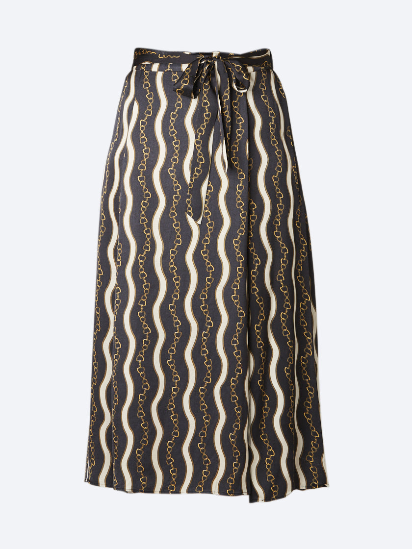 SOYA CHAIN PRINT SKIRT
