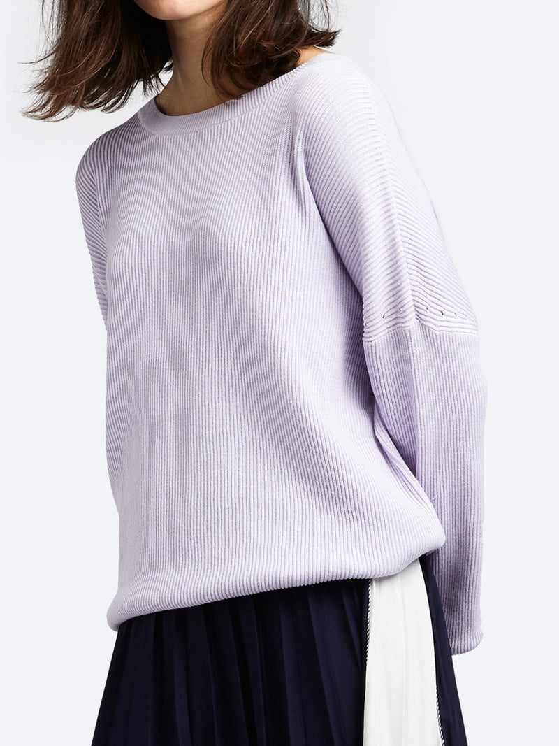 SANDWICH RIB KNIT JUMPER