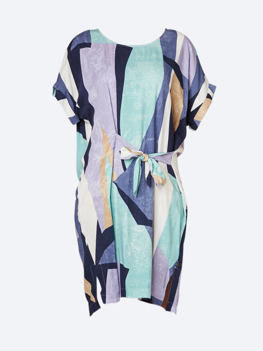 SANDWICH ABSTRACT PRINT DRESS