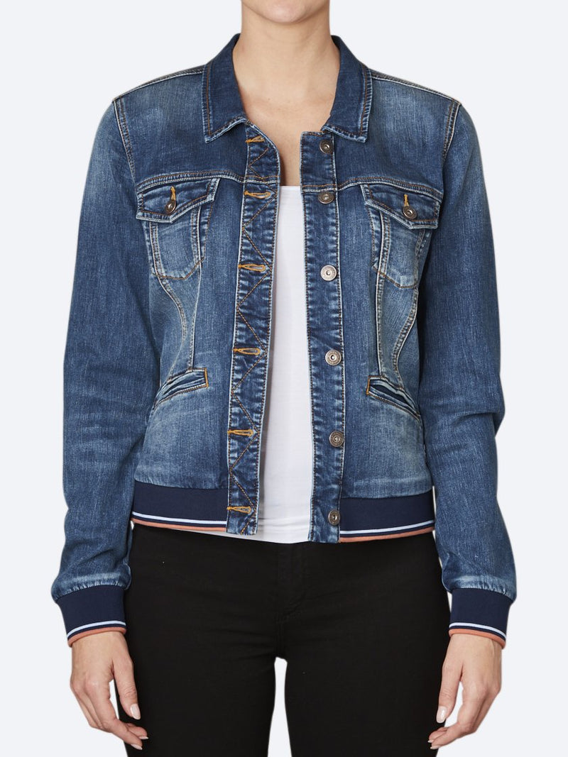 SANDWICH DENIM JACKET