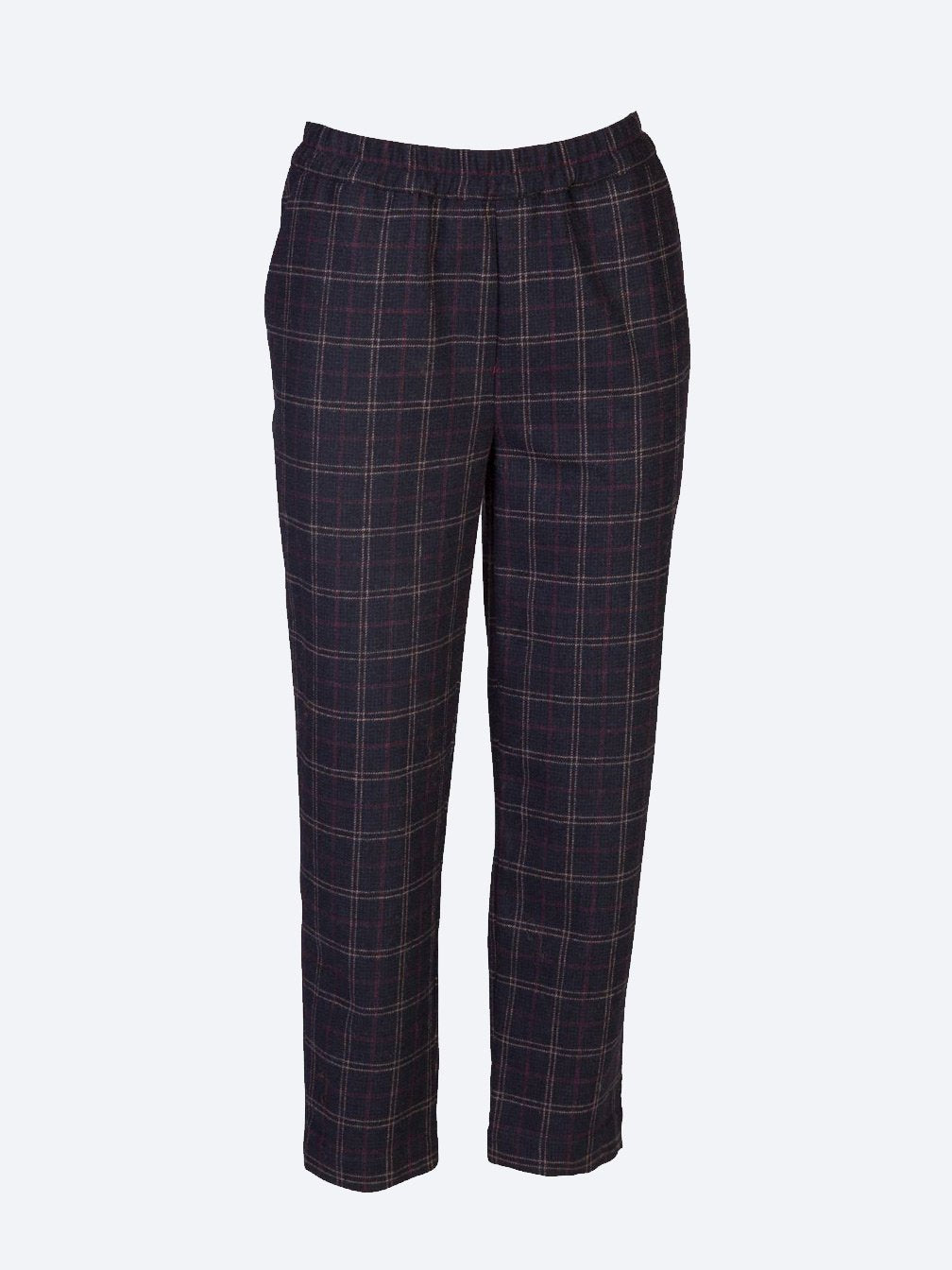 Yeltuor - SKIN & THREADS - Pants - SKIN & THREADS RELAXED CHECK PANT -  -