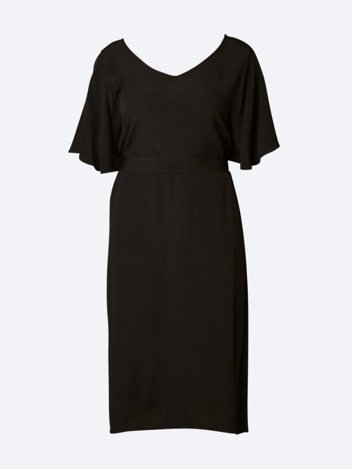 SOYA V NECK DRESS