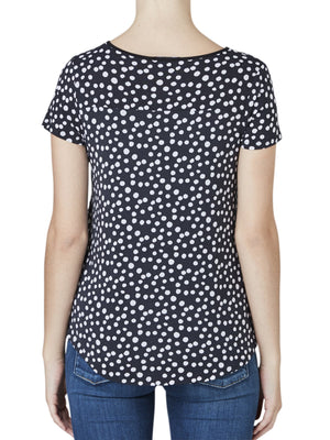 TANI DOTTY RESORT TEE-Tops-TANI-ENNI