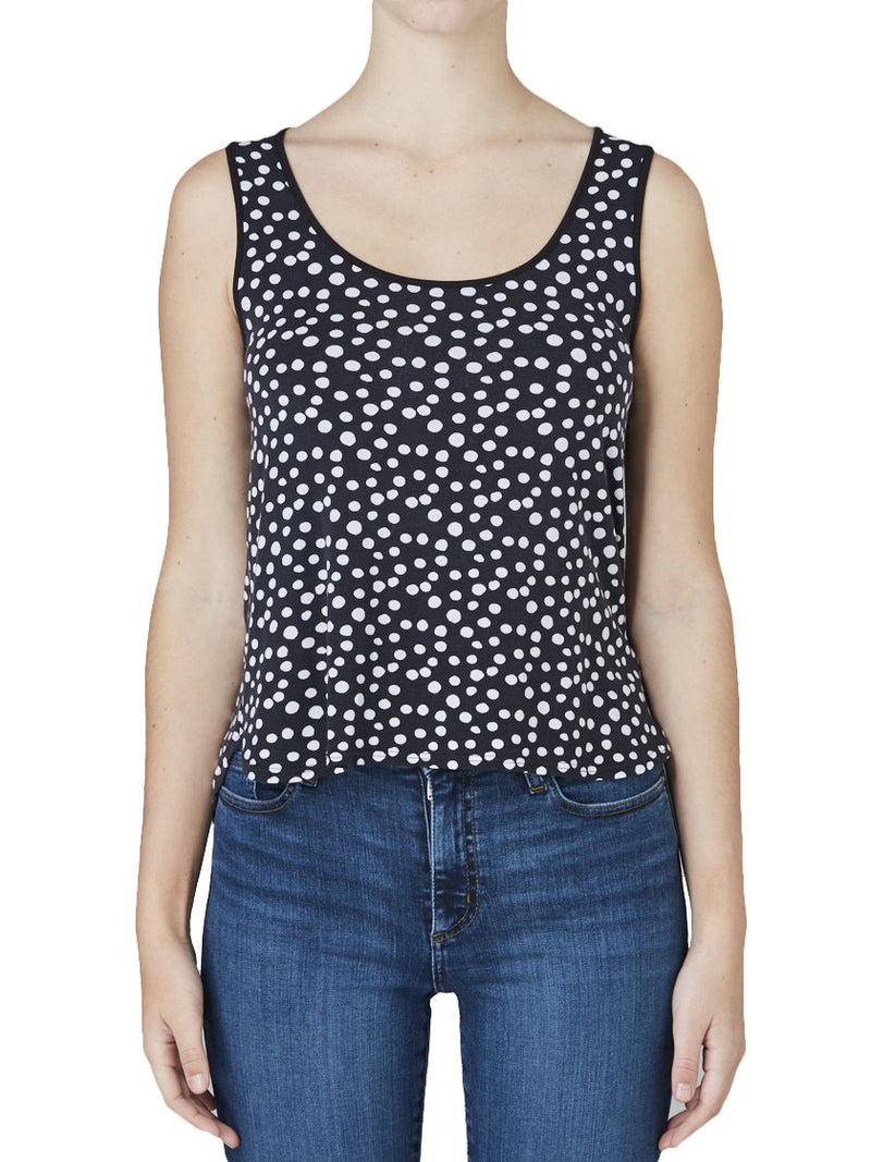 TANI DOTTY SHELL TANK-Tops-TANI-ENNI