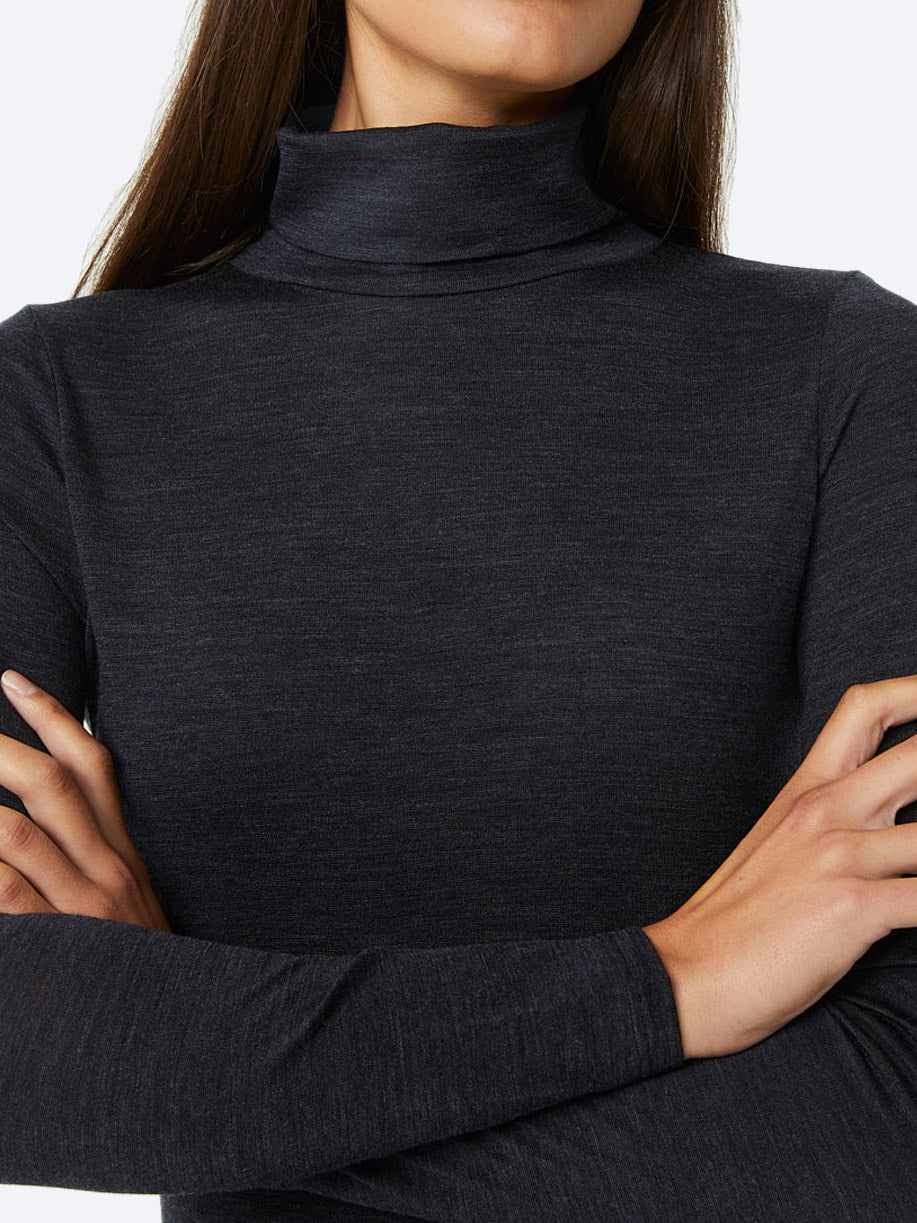 TOORALLIE MERINO TURTLENECK TEE