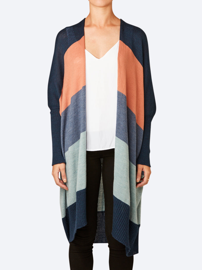 UIMI PIPER LONG MERINO WOOL CARDI