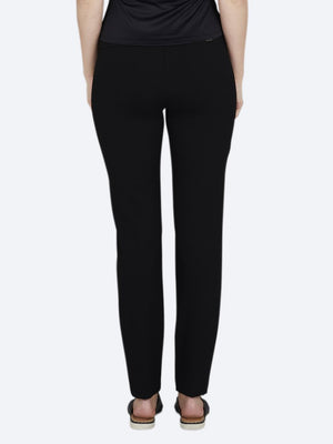 "UP! PONTE ILLUSION 28"""" SKINNY - BLACK"