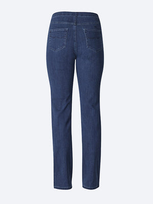 VASSALLI DENIM SLIM LEG PULL ON