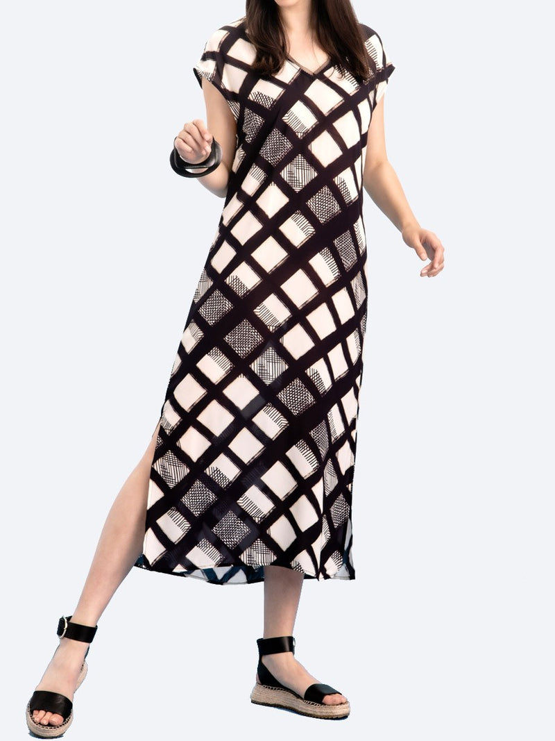 VERGE TANGENT DRESS