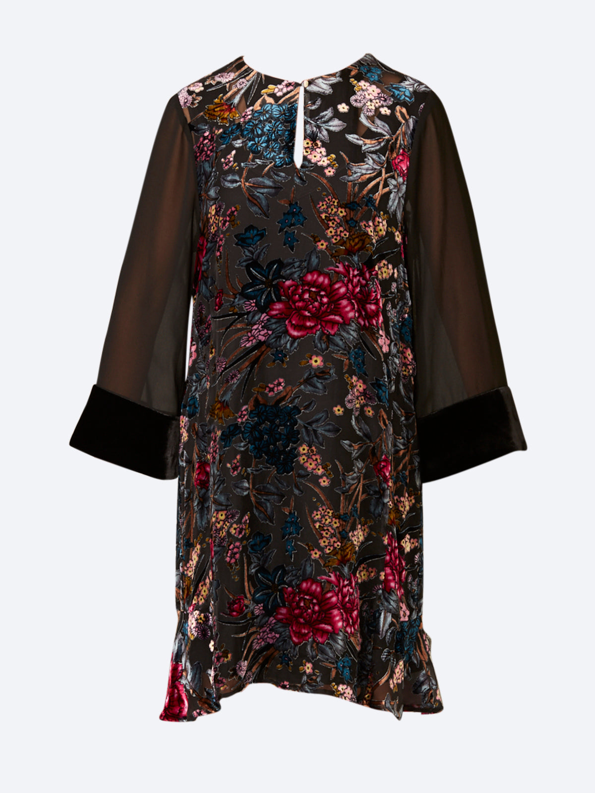 VERGE ZEN VELVET DRESS