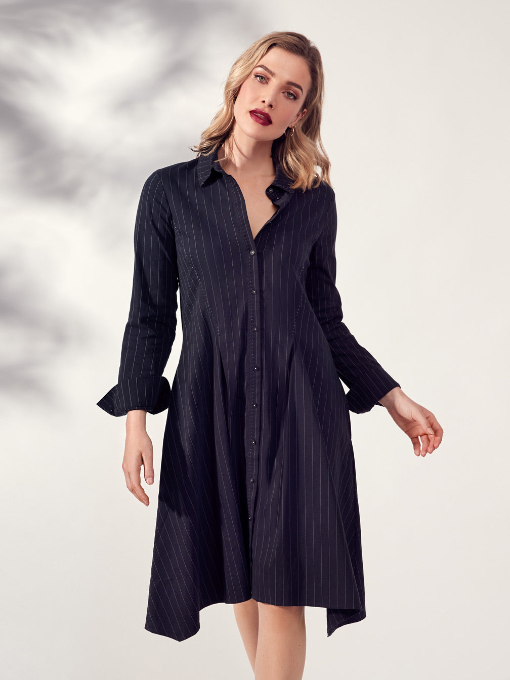 VERGE ACROBAT STRIPE VITA DRESS