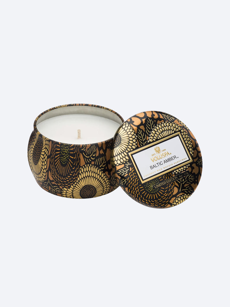 VOLUSPA MINI DECO TIN CANDLE