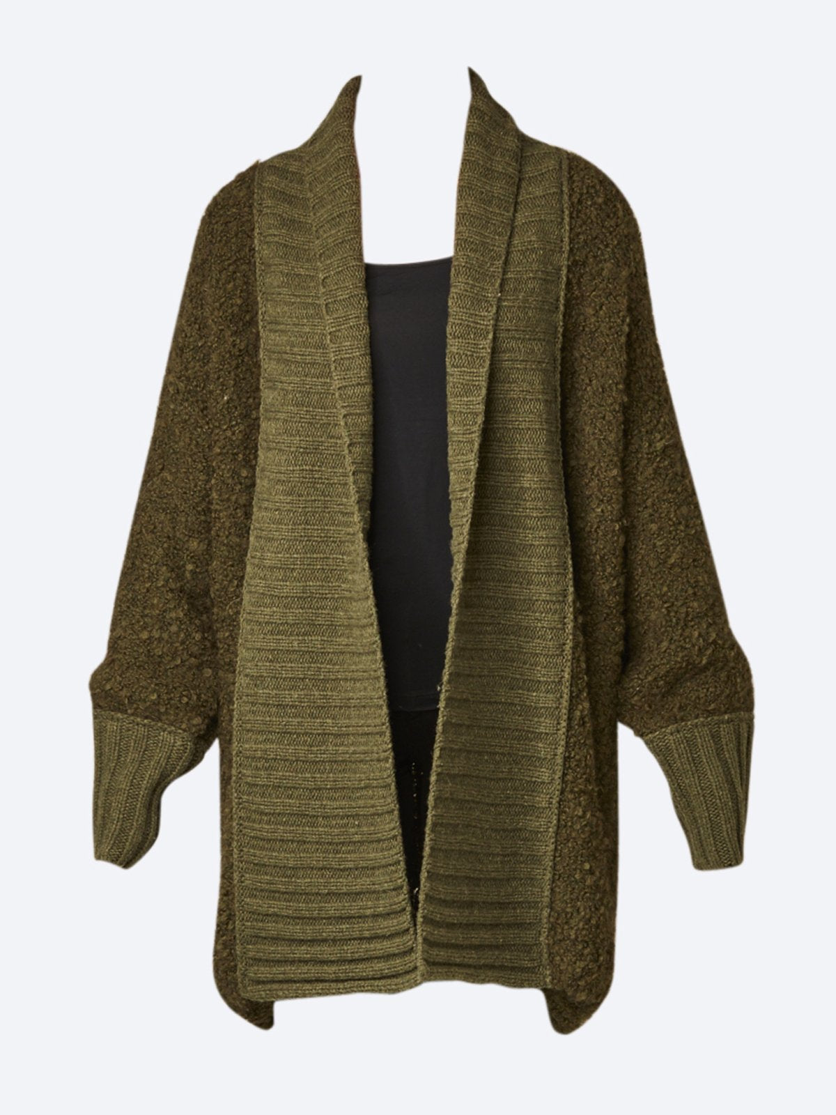 Yeltuor - ZAKET AND PLOVER - Knitwear - ZAKET & PLOVER BOUCLE CARDI -  -
