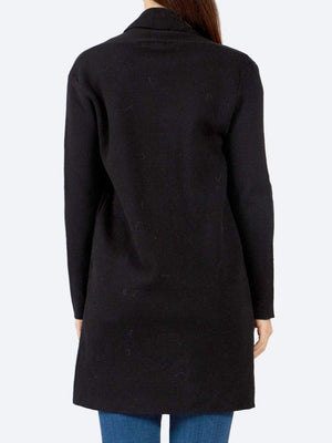 CAROLINE MORGAN LONG SLEEVE EDGE TO EDGE CARDIGAN