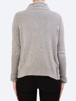 JAMES CASHMERE DOUBLE LAYER JACKET