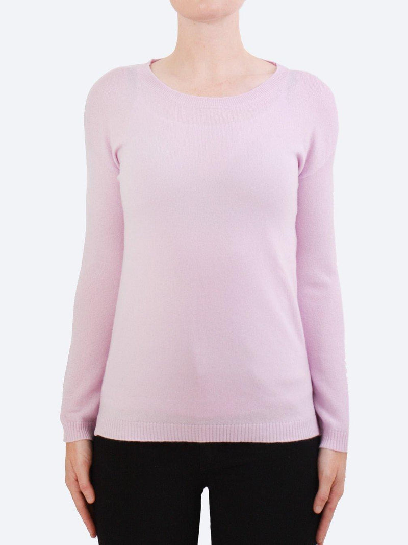 JAMES CASHMERE & WOOL CREW KNIT