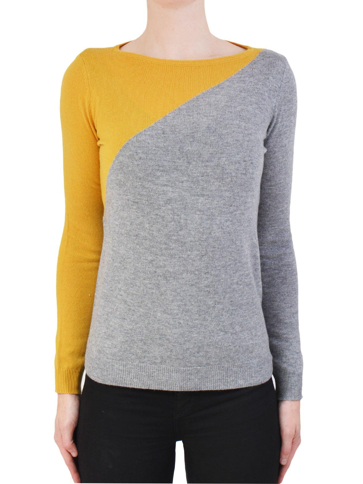 Yeltuor - JAMES MELBOURNE - Knitwear - JAMES MELBOURNE COLOUR BLOCK KNIT -  -