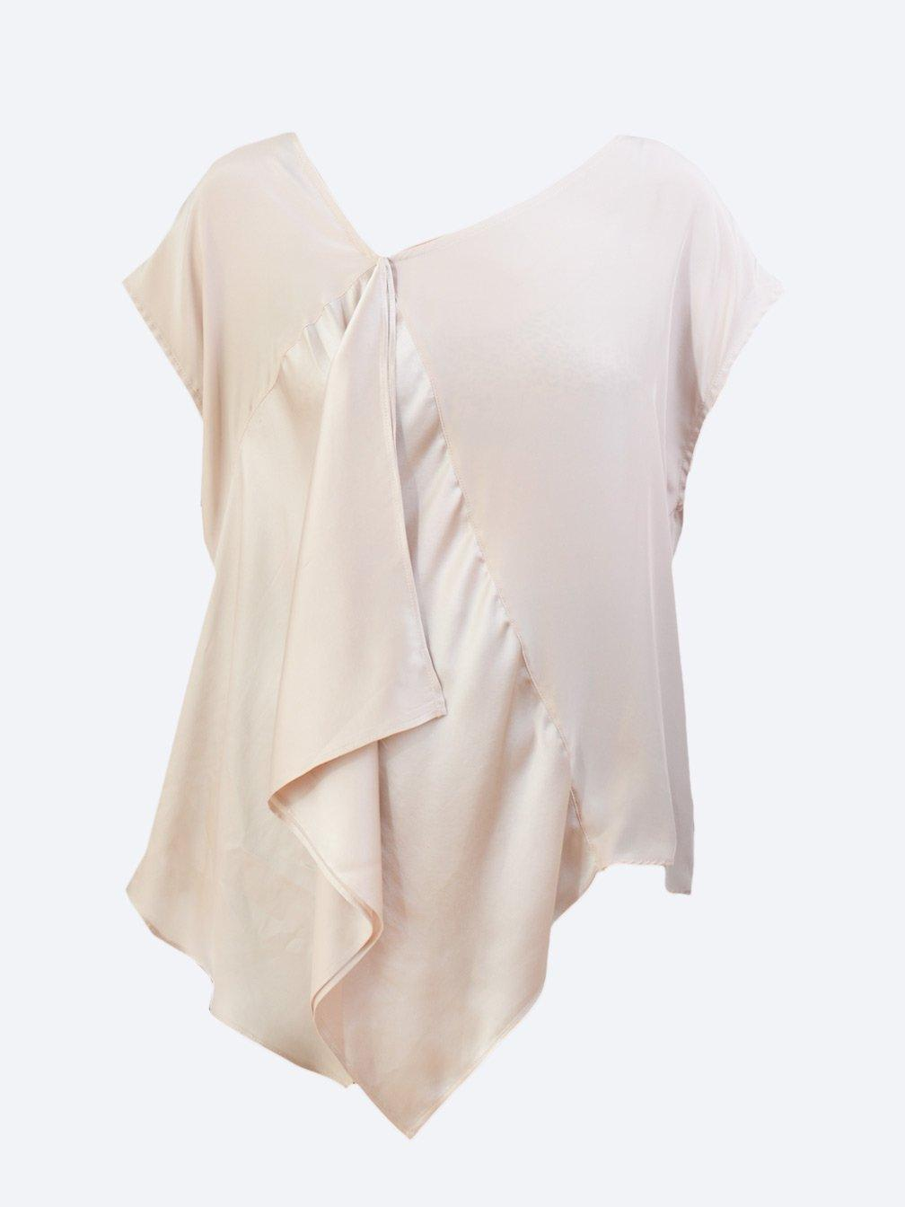 M.A DAINTY 12.01AM SILK TOP-Tops-M.A DAINTY-ENNI