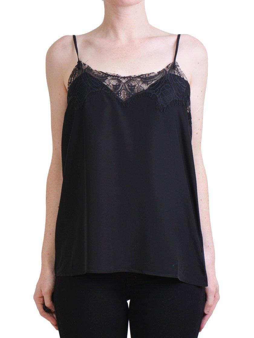 M.A DAINTY TAMBOURINE LACE CAMI-Tops-M.A DAINTY-ENNI