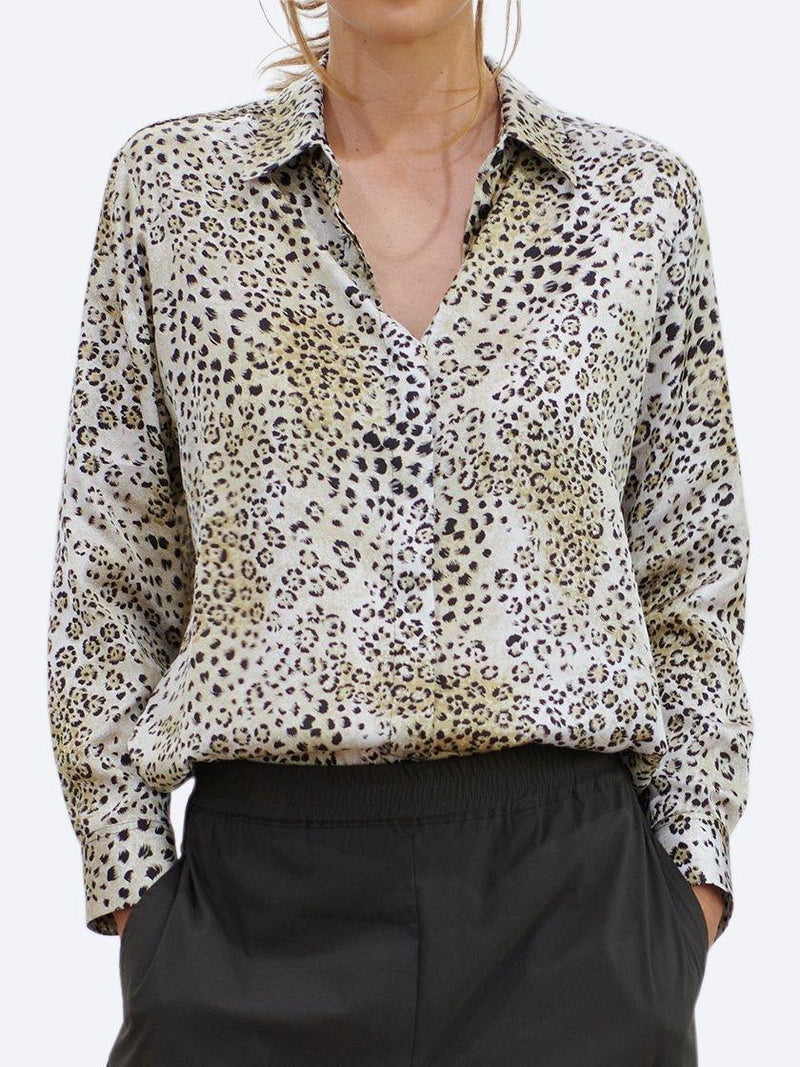 MELA PURDIE SOFT SHIRT - DUNE ANIMAL
