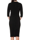 Sacha Drake Iris Dress 3/4 Sleeve-DRESSES-SACHA DRAKE PTY LTD-ENNI