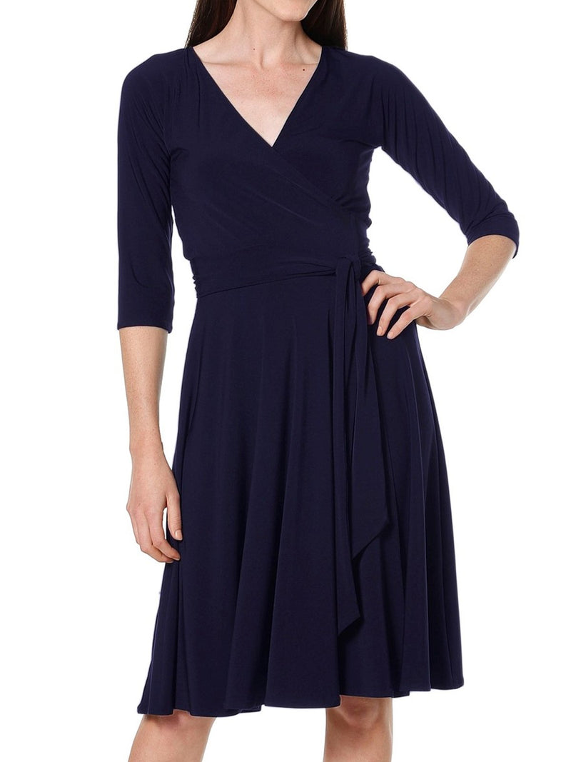 Sacha Drake Reverse Wrap Dress-DRESSES-SACHA DRAKE PTY LTD-ENNI