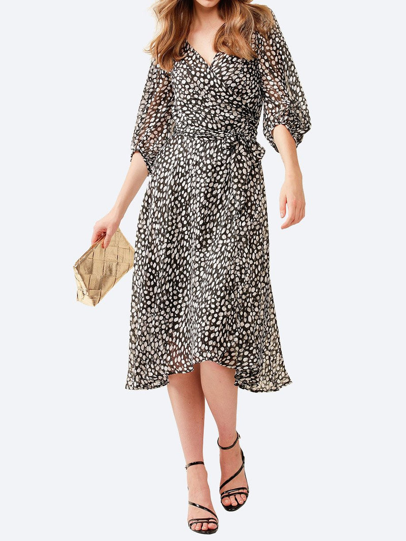 Yeltuor - SACHA DRAKE PTY LTD - Dresses - SACHA DRAKE CLOUDLAND WRAP DRESS -  -