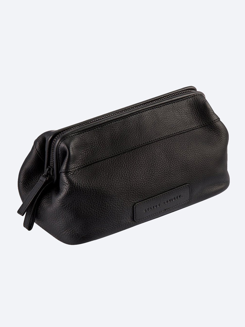 Yeltuor - STATUS ANXIETY - BAGS - STATUS ANXIETY LIABILITY TOILETRIES BAG - BLACK -  N/A