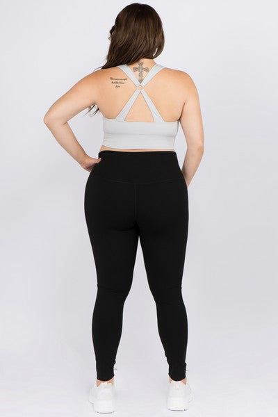 Black High Rise Buttery Soft Full Length Leggings