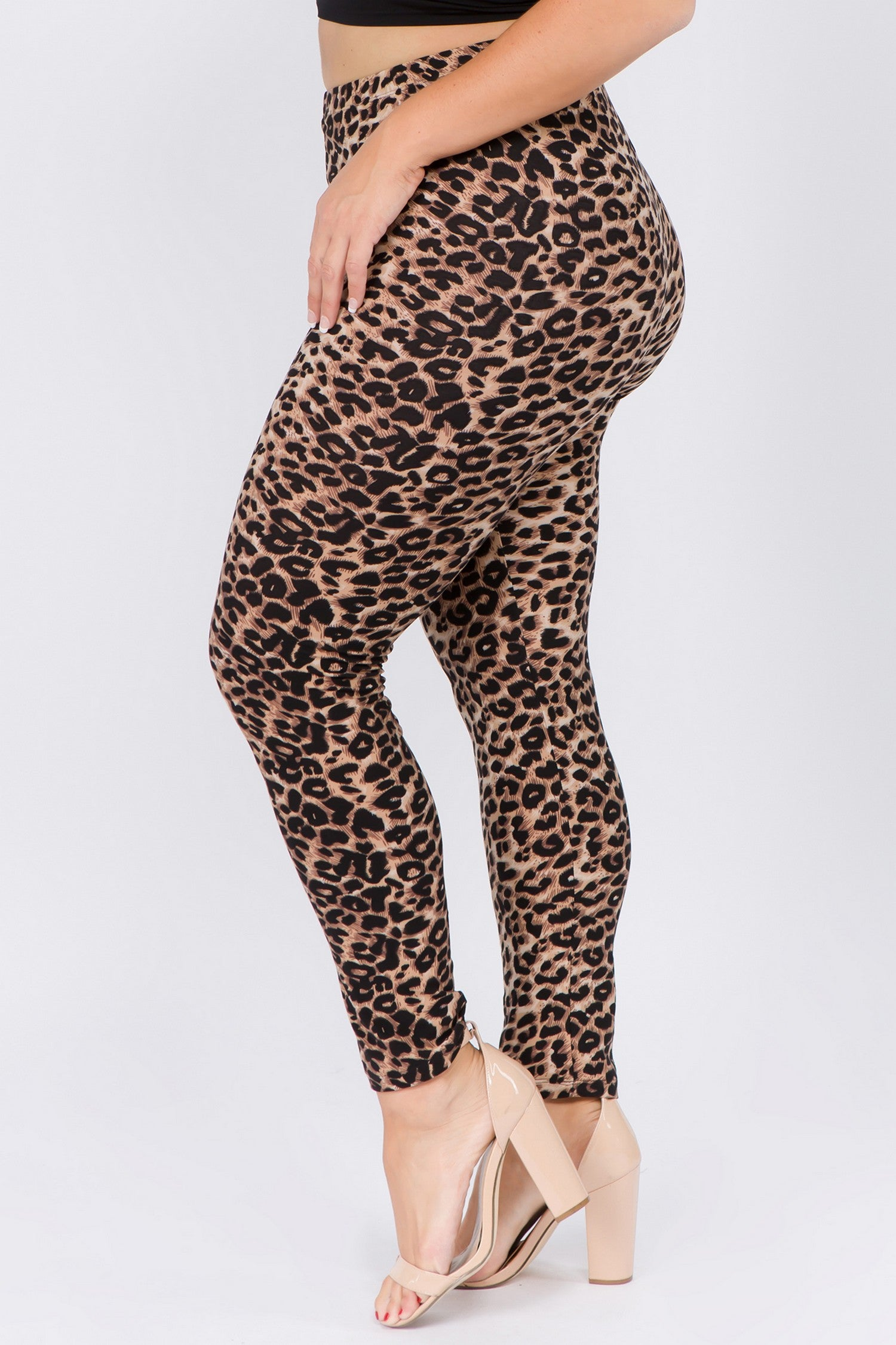Curvy Cheetah Leggings