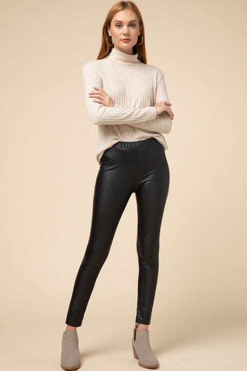 Rockstar Faux Leather Leggings