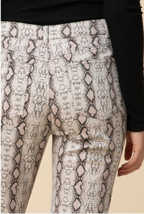 Fiesty Snake Skin Pants
