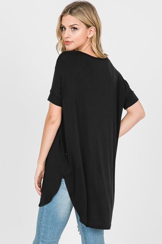 Black Basic Tunic