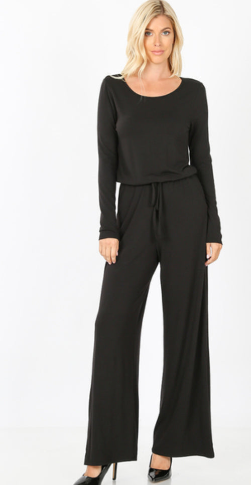 Missy Long Sleeve Jumpsuit