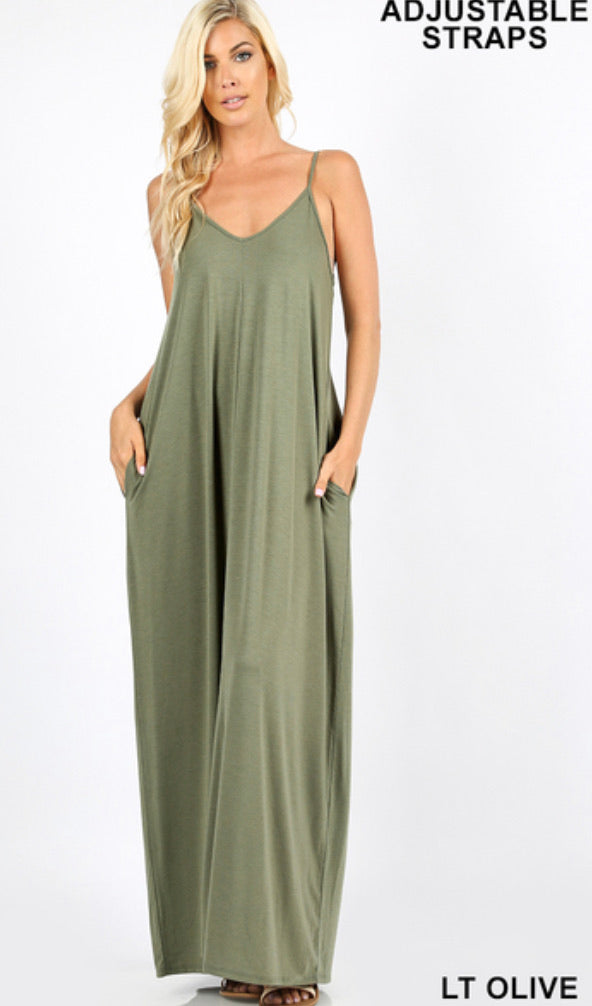 BEST SELLING Cami Maxi Dress
