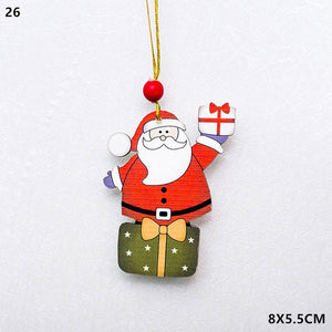 CHRISTMAS WOODEN DECORATIONS