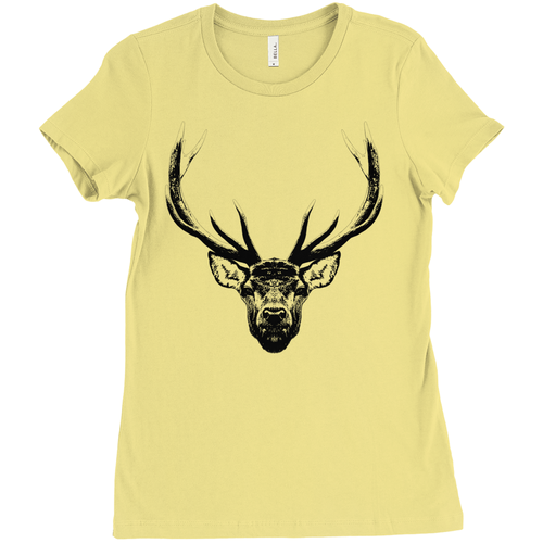 Women's Stag Contrast Tee