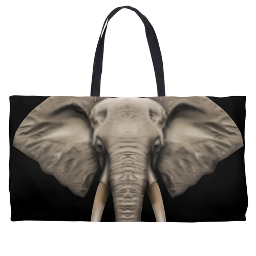 Elephant Weekend Bag Black