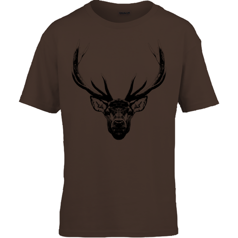 Kids Stag Contrast Tee