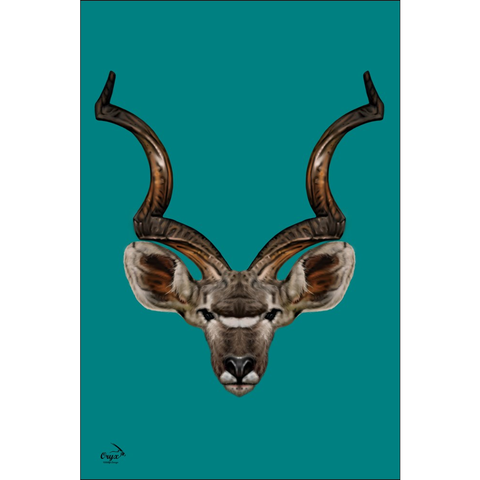 Kudu Poster Light Ocean
