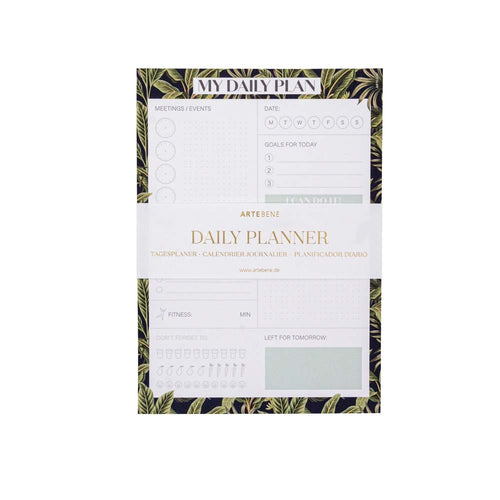 Daily Planner Jungle Couture