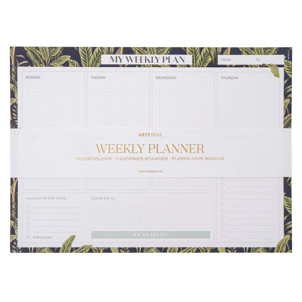 Weekly Planner Jungle Couture