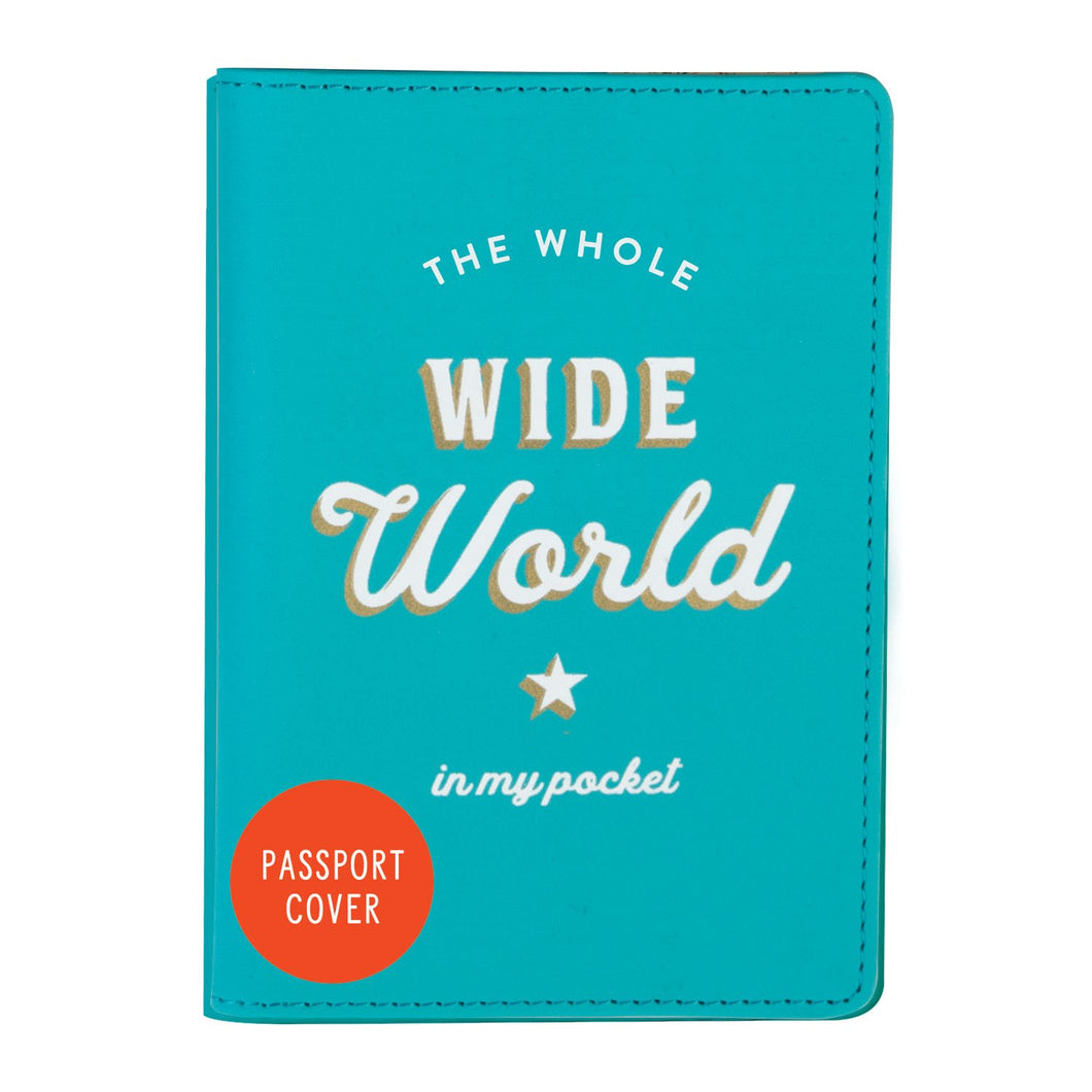 Funda de Pasaporte The Whole Wide World