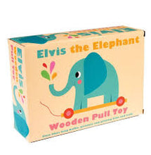 Elvis the Elephant Pull Toy