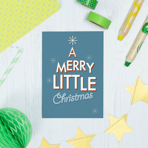 Merry Little Christmas Card
