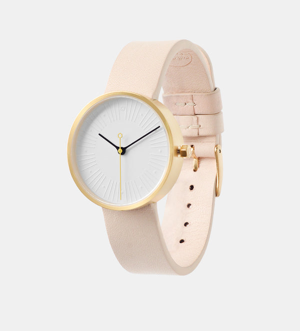 No.4 • 33mm • Gold/White/Tan
